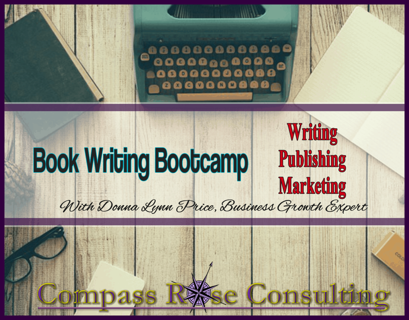 Book Writing and Publishing Workshop