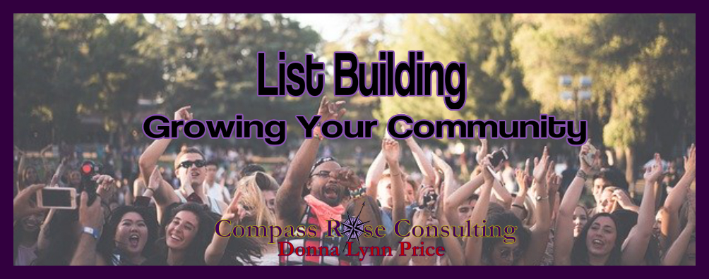 List Building – The Money Is In The List