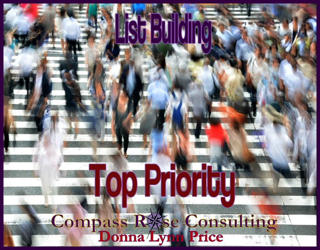 list building top priority