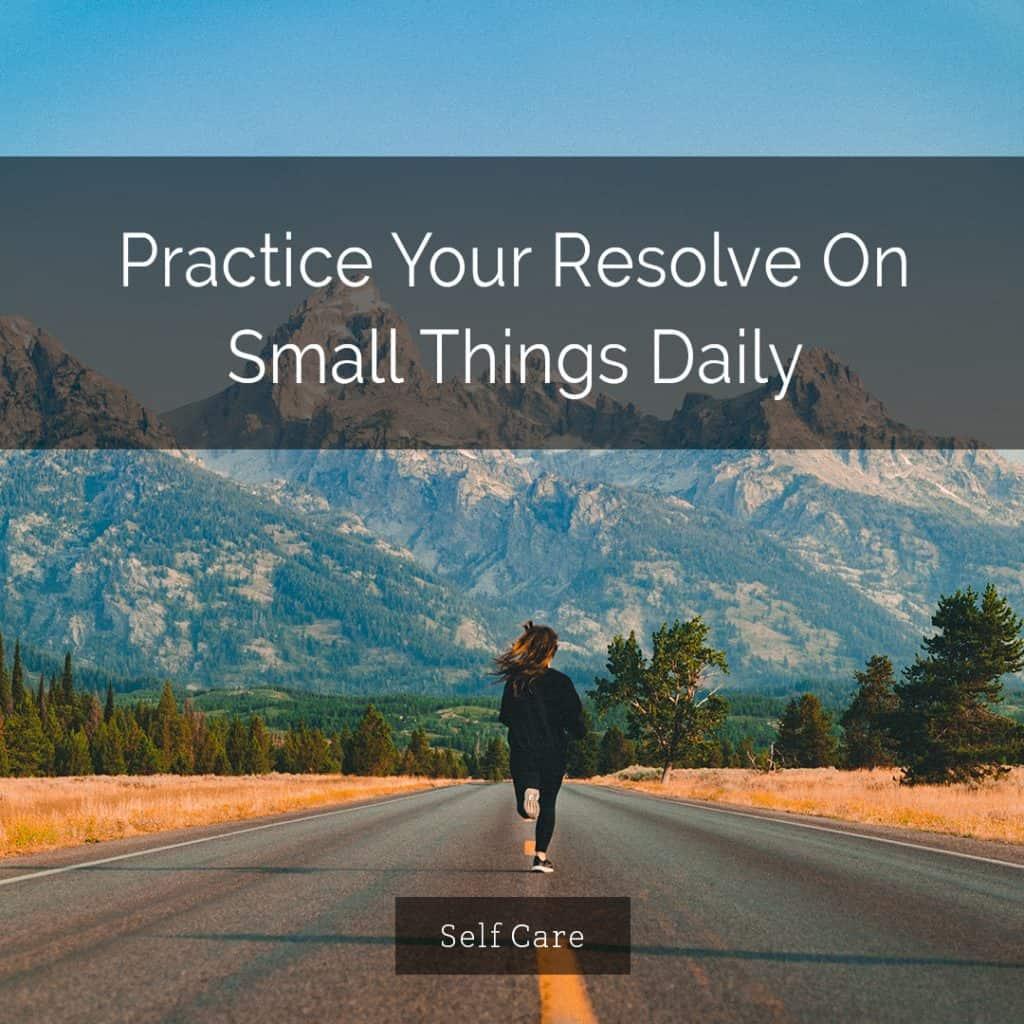 practicing self care