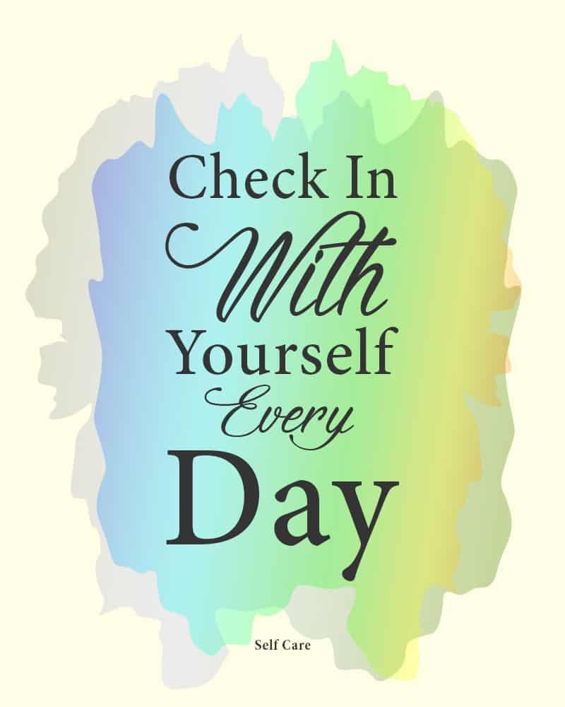 self care practice